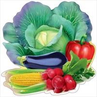 Украшение на скотче ''Овощи''