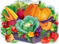 Плакат Ящик с овощами