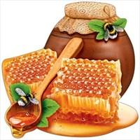 Украшение на скотче ''Горшочек меда''