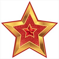 Украшение на скотче ''Звезда''