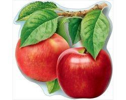 Украшение на скотче ''Яблоки с листьями''