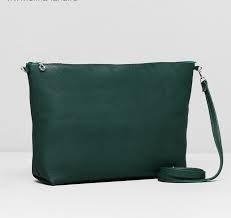 Сумка жен Классика, 30*7*22см, отдел на молнии, регул ремень, зеленый   1847865