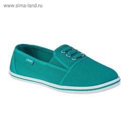 Туфли женские Libang арт. LB560-21 (бирюзовый) (р. 37)   3361301