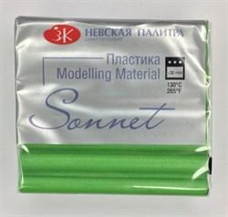 Пластика, брус 56 г, зелёный бриллиант Сонет