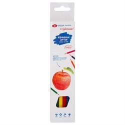 Набор цветных шестигранных карандашей, 6 цветов, Я - Художник!