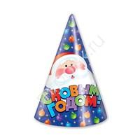 Колпаки С Новым Годом! Елочные игрушки 6шт (6){20}