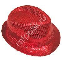 Шляпа Клубная красная {20}