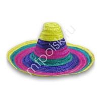 Шляпа Сомбреро цветная