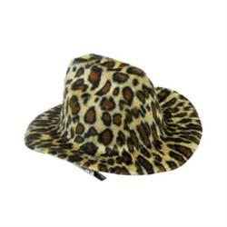 Шляпа заколка леопардовая {20}