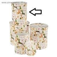 Коробка ''Свадьба 1 мелкие розы и 2 кольца'' средняя (ширина-17см. глубина-22см.)